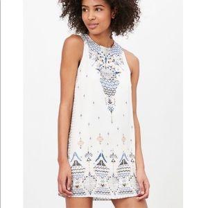 UO Ecote Guinevere Open Back Mini Dress